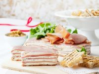 Ham and Cheese Terrine with Fresh Herbs recipe