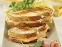 Ham and Cheese Toasties recipe