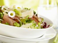 Ham and Parmesan Spring Salad recipe