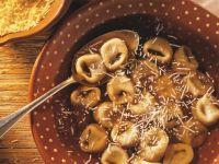 Ham and Ricotta Tortellini recipe