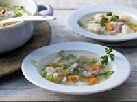 Ham and Vegetable Stew recipe