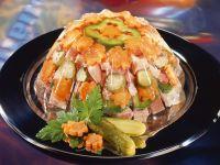 Ham and Vegetables in Gelatin recipe