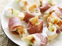 Ham, Melon, and Cheese Bites recipe