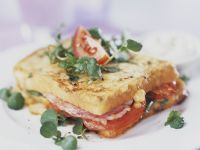 Ham Salad French Toast Sandwich recipe