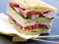 Ham Salad on White Bread recipe