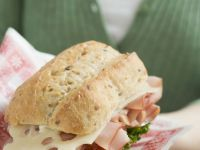 Ham, Tomato, and Swiss Sandwich recipe