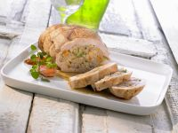 Ham with Vegetable Filling recipe