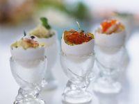 Hard-boiled Eggs Four Ways recipe