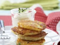 Hash Browns with Cheese Cream recipe
