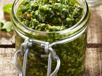Hazelnut and Wild Garlic Pesto recipe
