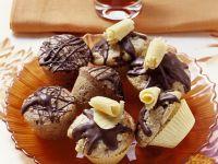 Hazelnut Cupcakes with Chocolate-Rum Frosting recipe