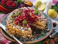 Hazelnut Currant Cake recipe