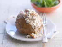 Healthy Baked Potato with Rocket recipe