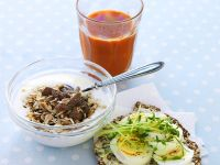 Healthy Breakfast Bowl with Seeded Bread recipe