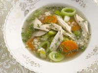 Healthy Broth with Chicken recipe