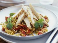 Healthy Chicken and Rice Salad recipe