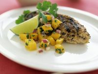 Healthy Chicken with Mango and Lime recipe