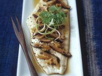 Healthy Chinese-style Plaice recipe