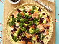 Healthy Fish and Veg Egg Tart recipe