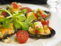 Healthy Moules with Chopped Dressing recipe