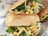 Healthy Pitta Sandwiches recipe