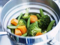 Healthy Steamed Vegetables recipe