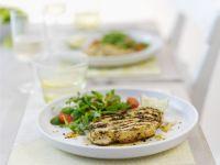 Healthy Turkey with Salad recipe