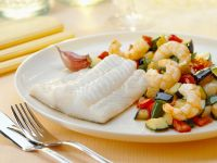 Healthy White Fish with Rustic Veg recipe