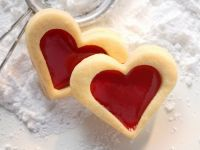 Heart Sandwich Cookies with Raspberry Jam recipe