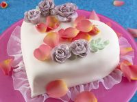 Heart-shaped Cake recipe