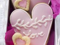 Heart Shaped Sugar Cookies recipe