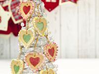 Heart Sugar Window Cookies recipe