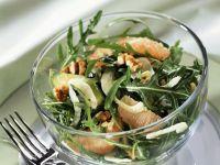 Hearty Grapefruit and Arugula Salad with Walnuts recipe