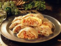 Hearty Ham Strudel recipe