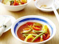 Hearty Pepper and Tomato Broth recipe