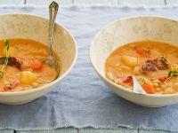Hearty Potato-Bean Soup recipe