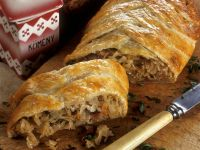 Hearty Sauerkraut Strudel recipe