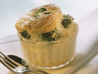 Hearty Souffle with Broccoli and Cauliflower recipe