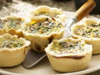 Mini Vegetable Quiches recipe
