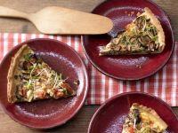 Hearty Tart with Mushrooms recipe