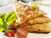 Hearty Tomato Pancakes recipe