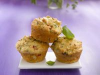 Hearty Vegetable Muffins recipe