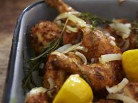 Herb and Citrus Chicken Legs recipe