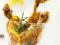 Herb and Citrus Drumsticks recipe