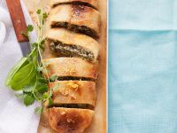 Herb and Cream Cheese Strudel recipe
