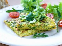 Herb and Leek Frittata recipe
