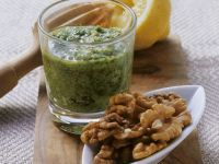 Herb and Nut Sauce recipe