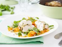 Herb Chicken Breast with Carrots recipe