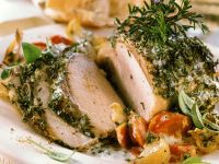 Herb Crusted Pork Tenderloin recipe