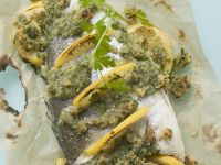 Herb Crusted Sea Bream recipe